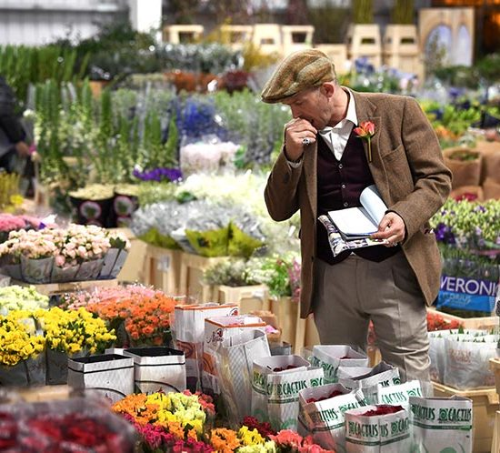 New Covent Garden Flower Market